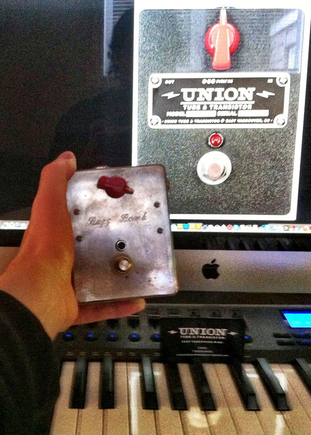 Union Buzz Bomb stompbox